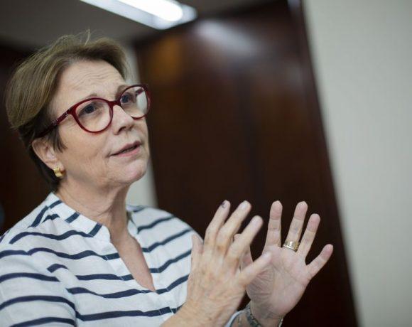Tereza Cristina, ministra da Agricultura