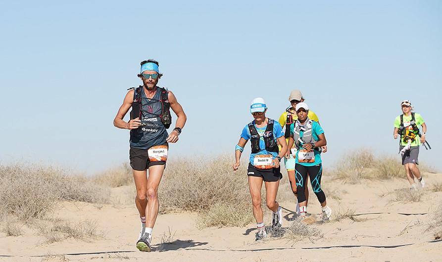 A Ultramaratona de Al Marmoom em 2018