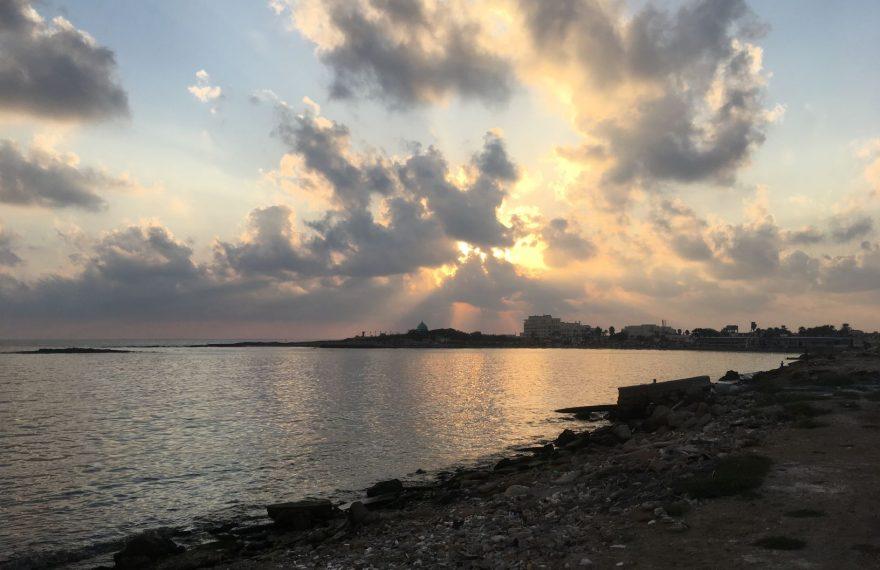 Final de tarde em Latákia, na Síria