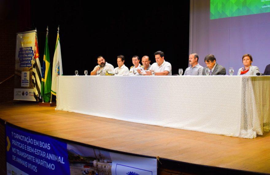 Diretora da Câmara Árabe, Janine Menezes, participou da abertura do evento