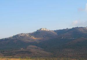 O Crac des Chevaliers, na Síria, domina a paisagem