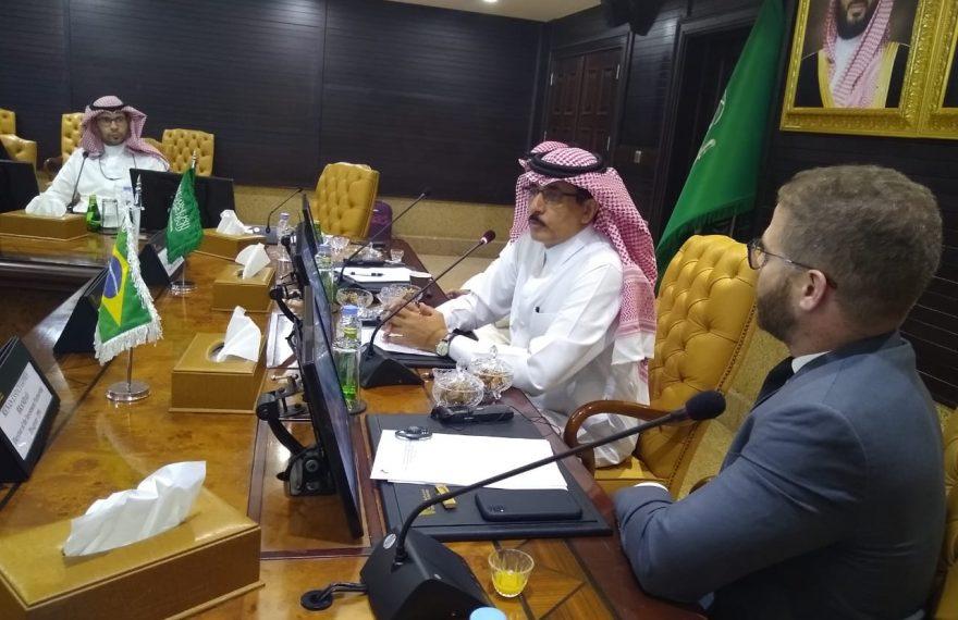 Seminário foi conduzido por Khaled Mohammed Al-Aboodi, diretor geral da Salic