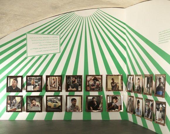 A obra feita pelo artista em Amã está exposta na mostra Sesc_videobrasil