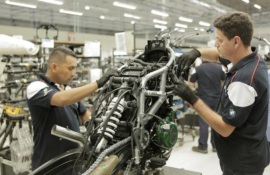 Fábrica de motos da BMW