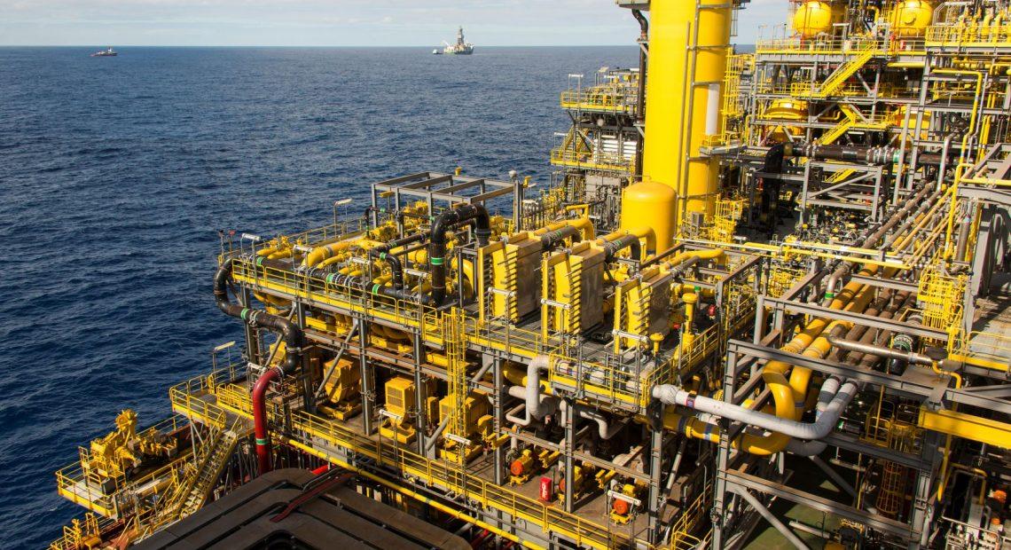 Plataforma de petróleo FPSO Cidade de Maricá