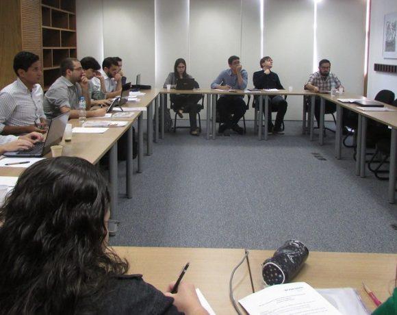 Aula de Relações Internacionais da FGV