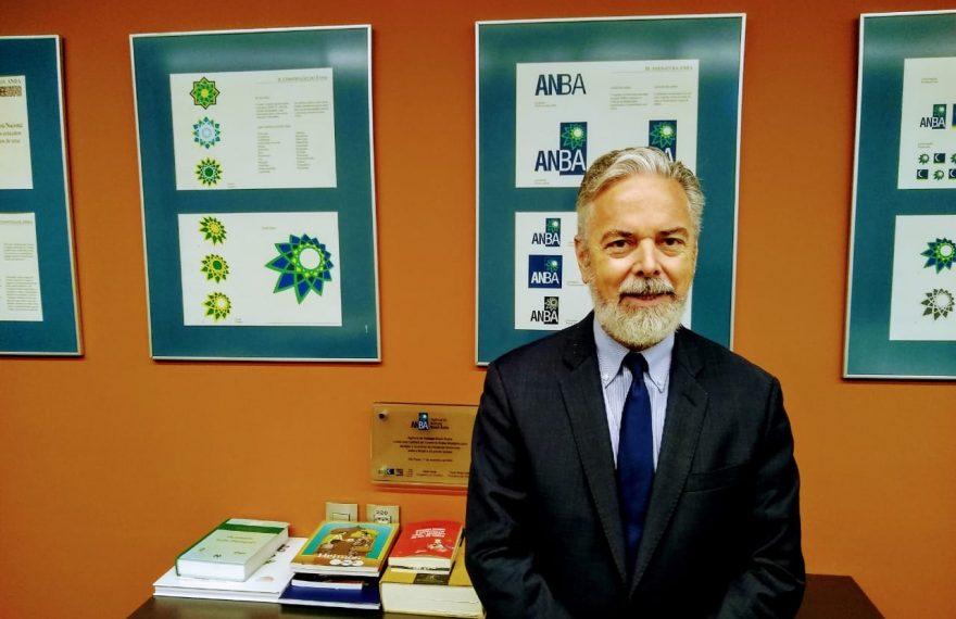 Antonio Patriota na redação da ANBA