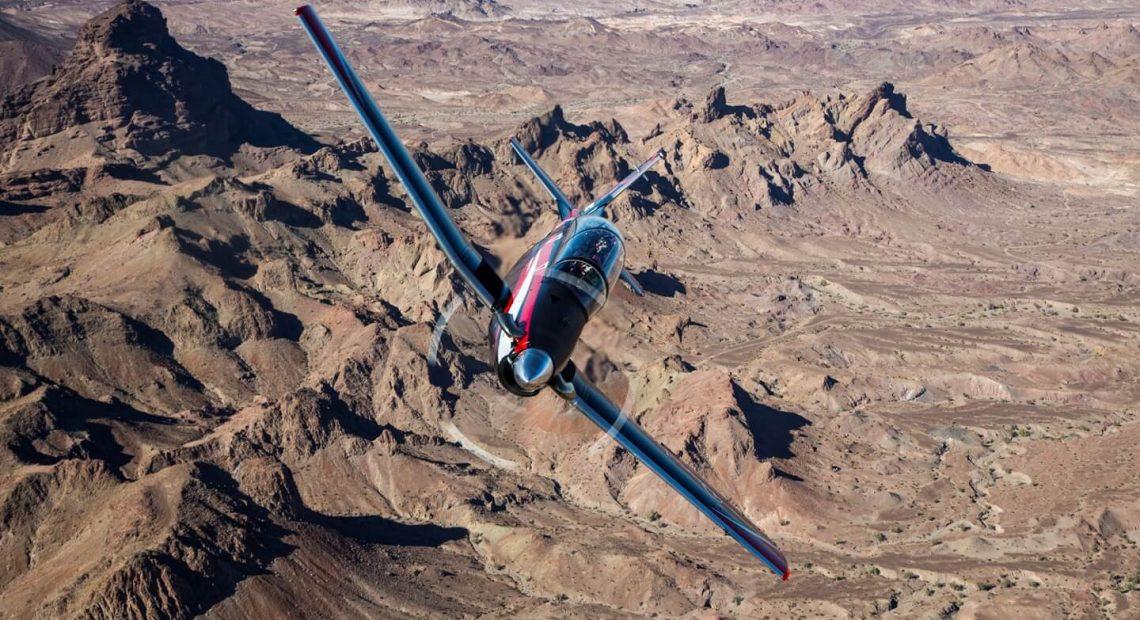 O Beechcraft T-6C. Negócio envolve a venda de 12 aviões à Tunísia