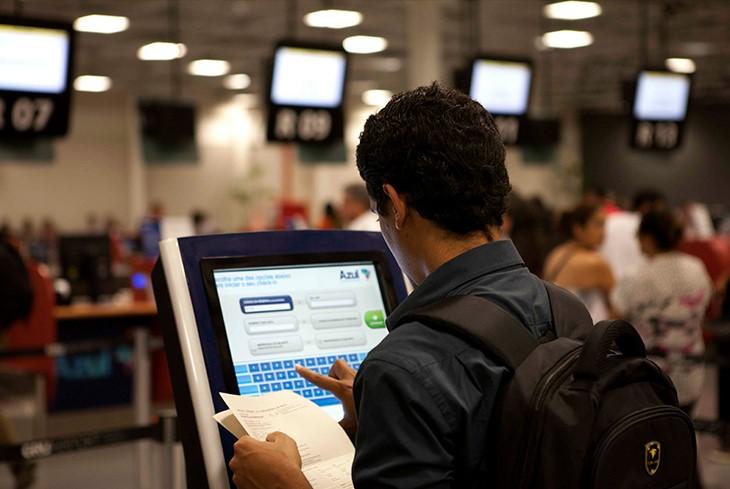Aeroporto de Guarulhos. Serviços de transporte registraram crescimento