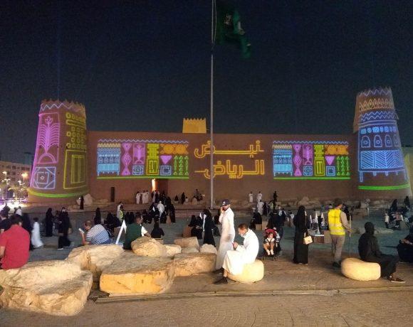 Forte Al Masmak, no centro de Riad, Arábia Saudita