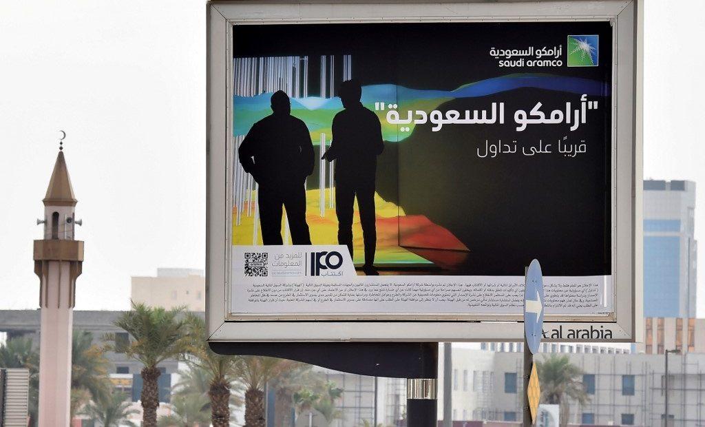 Propaganda da IPO da Saudi Aramco