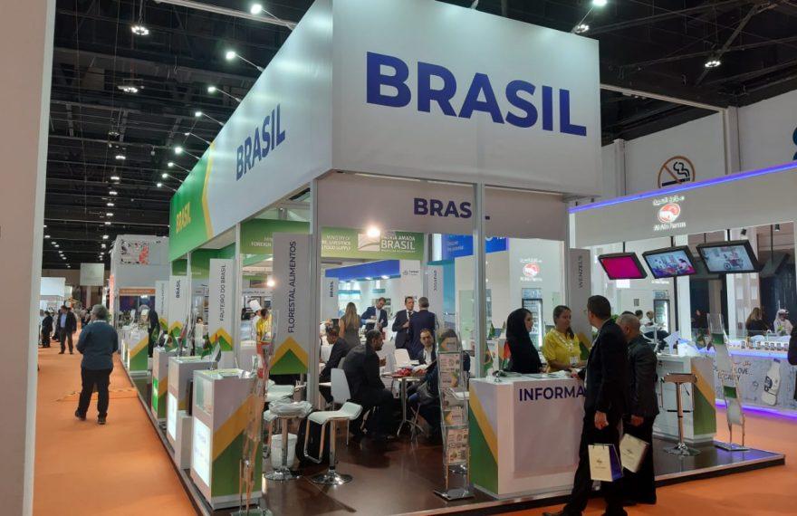 Pavilhão do Brasil na Sial Middle East