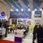 Estande da Câmara Árabe na Food Africa