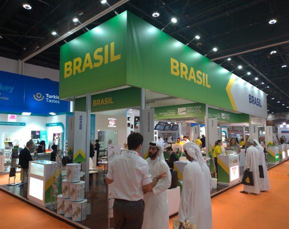 Brasileiros expõem em feira de alimentos em Abu Dhabi