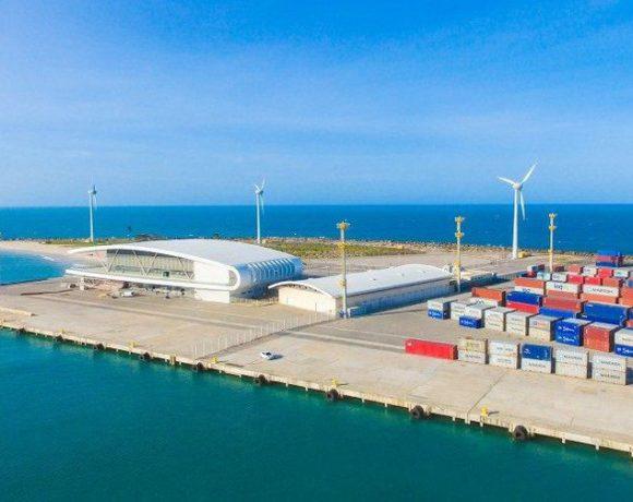 Terminanal portuário em Fortaleza