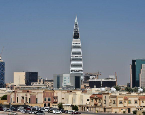 Vista geral de Riad, na Arábia Saudita