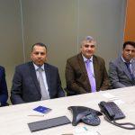 Representantes da Câmara de Comércio e Indústria de Omã e o embaixador do país visitaram a Câmara Árabe Brasileira. Omanitas participaram de reunião do Conselho da entidade.