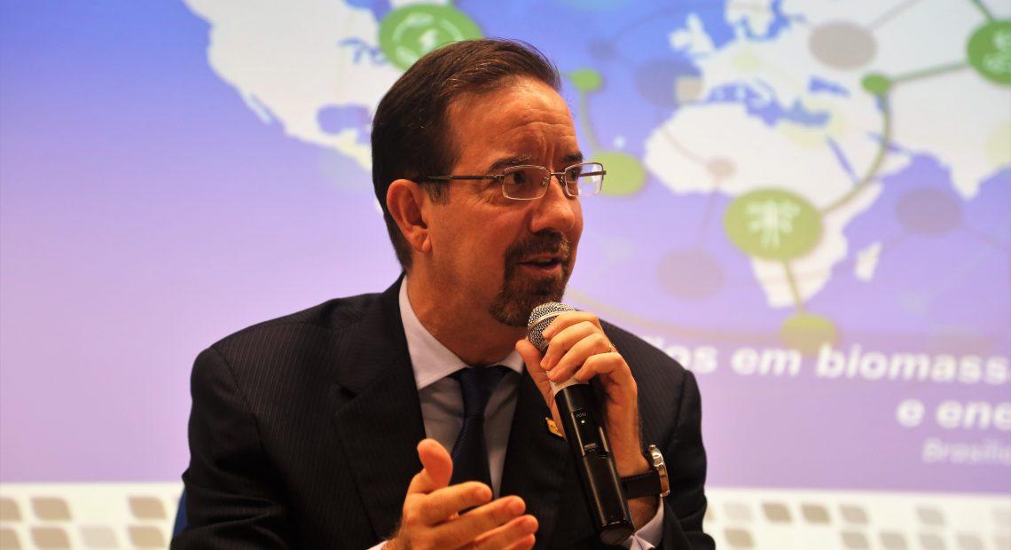 O presidente da Embrapa, Celso Moretti