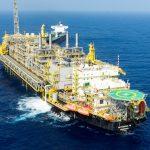 Plataforma de produção de petróleo da Petrobras