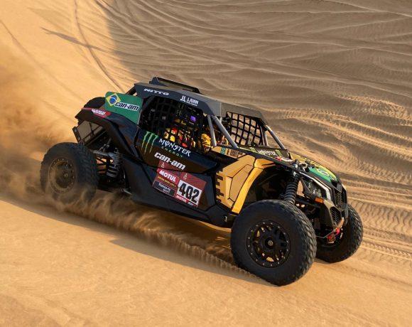 Reinaldo Varela e Gustavo Gugelmin disputam o Rali Dakar na categoria UTVs