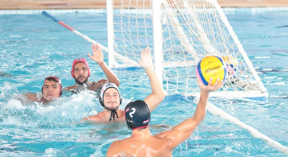 Equipe de polo aquático do Sesi-SP disputa torneio no Egito